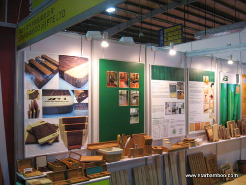 Star Bamboo booth