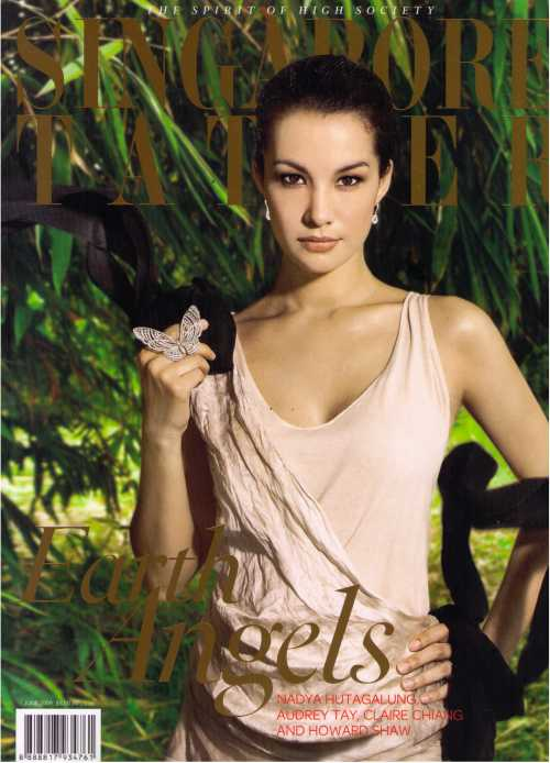 Singapore Tatler - cover page