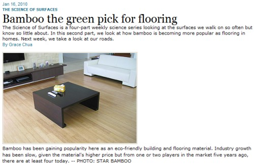 bamboo the green pick for flooring