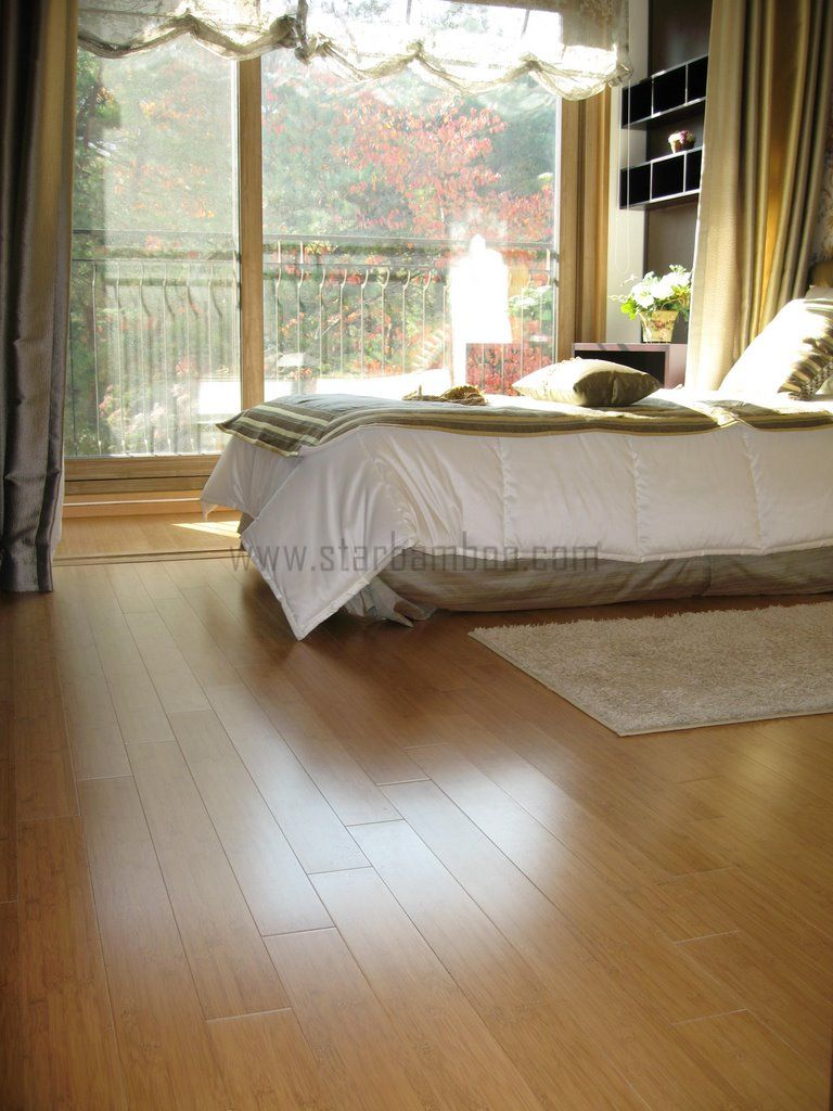 Carbonised Horizontal bamboo flooring in South Korea