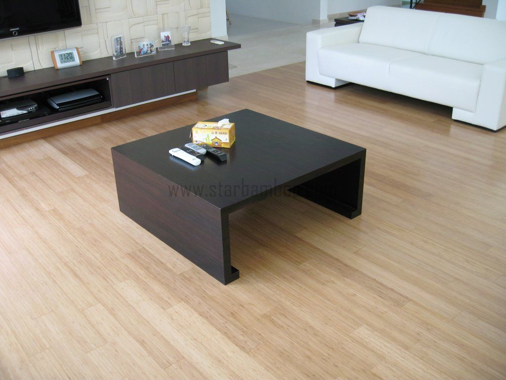 Carbonised Vertical Bamboo flooring at Toh Heights